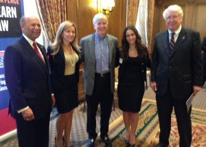 Honored to meat Governor Rick Snyder, Lloyed Sempel Dean of Law at University of Detroit Mercy, and Antoine Garibaldi President of University of Detroit Mercy.